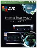 AVG Internet Security 2017, Unlimited, 1 DVD-ROM (Special Edition)