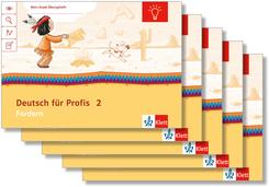 Mein Indianerheft: Mein Anoki-Übungsheft - Deutsch für Profis, 2. Klasse (5 Exemplare)