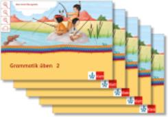 Mein Indianerheft: Mein Anoki-Übungsheft - Grammatik üben, Arbeitsheft 2. Schuljahr (5 Exemplare)