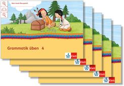 Mein Indianerheft: Mein Anoki-Übungsheft - Grammatik üben, Arbeitsheft 4. Schuljahr (5 Exemplare)