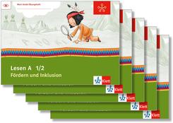 Mein Indianerheft: Lesen A - Fördern und Inklusion, 1./2. Klasse (5 Exemplare)