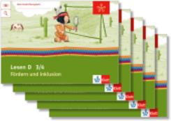 Mein Indianerheft: Mein Anoki-Übungsheft - Lesen D - Fördern und Inklusion, 3./4. Klasse (5 Exemplare)