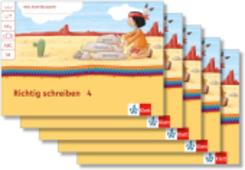 Mein Indianerheft: Richtig schreiben Klasse 4 (5 Exemplare)
