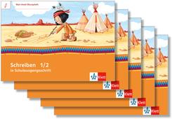 Mein Indianerheft: Mein Anoki-Übungsheft - Schreiben in Schulausgangsschrift (5 Exemplare)