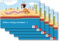 Mein Indianerheft: Ziffern richtig schreiben Klasse 1 (5 Exemplare)