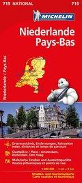 Michelin Karte Niederlande; Pays-Bas