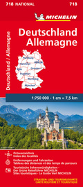 Michelin Karte Deutschland; Allemagne
