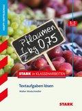 Textaufgaben lösen 5.-7. Klasse Haupt-/Mittelschule