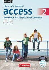 English G Access, Ausgabe Baden-Württemberg: 6. Schuljahr, Workbook interaktiven Übungen; 2