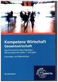 Kompetenz Wirtschaft - Gesamtwirtschaft, Lehrerhandbuch, CD-ROM