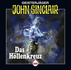 John Sinclair - Das Höllenkreuz, 2 Audio-CDs