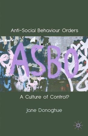 Anti-Social Behaviour Orders