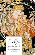 Mucha - Notizbuch