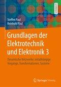 Grundlagen der Elektrotechnik und Elektronik - Bd.3