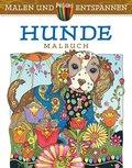 Malen und entspannen: Dazzling Dogs
