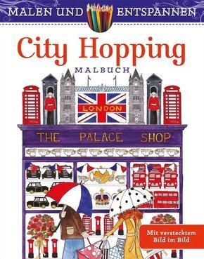 Malen und entspannen: City Hopping