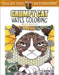 Grumpy Cat hates coloring - Malbuch