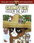 Grumpy Cat gegen die Welt - Malbuch