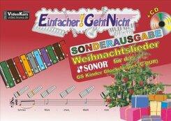 Einfacher!-Geht-Nicht: Weihnachtslieder für das SONOR GS Kinder Glockenspiel (C-DUR), m. 1 Audio-CD