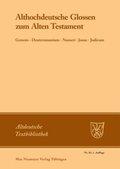 Althochdeutsche Glossen zum Alten Testament