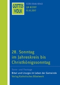 Gottes Volk, Lesejahr A 2017: 28. Sonntag im Jahreskreis bis Christkönigssonntag; H.8