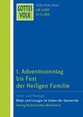 Gottes Volk, Lesejahr A 2017: 1. Adventssonntag bis Fest der Heiligen Familie; H.1