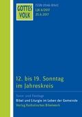 Gottes Volk, Lesejahr A 2017: 12. bis 19. Sonntag im Jahreskreis; H.6
