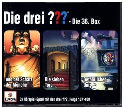 Die drei ??? - Die 36. Box, 3 Audio-CDs - Box.36