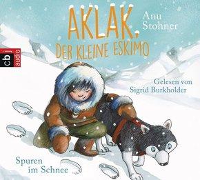 Aklak, der kleine Eskimo - Spuren im Schnee, 1 Audio-CD