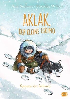 Aklak, der kleine Eskimo - Spuren im Schnee