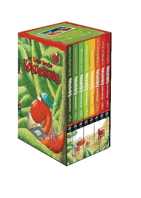 Der kleine Drache Kokosnuss - Geschenkschuber, 8 Bände