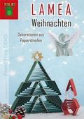 LAMEA Weihnachten - Dekorationen aus Papierstreifen