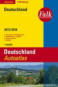 Falk Autoatlas Falkfaltung Deutschland 2017/2018 1:500 000