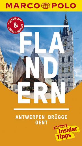 MARCO POLO Reiseführer Flandern, Antwerpen, Brügge, Gent