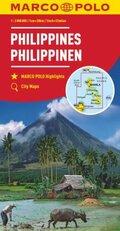 MARCO POLO Kontinentalkarte Philippinen 1:2 000 000