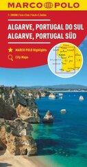 MARCO POLO Karte Algarve, Portugal Süd 1:200 000