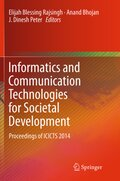 Informatics and Communication Technologies for Societal Development