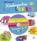 Mein buntes Kindergartenlexikon, m. Audio-CD