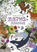 Mein großes Natur-Malbuch