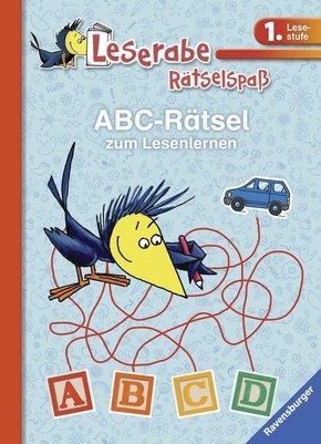 ABC-Rätsel zum Lesenlernen - Leserabe 1. Lesestufe