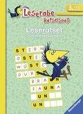 Leserätsel zum Lesenlernen - Leserabe, 3. Lesestufe