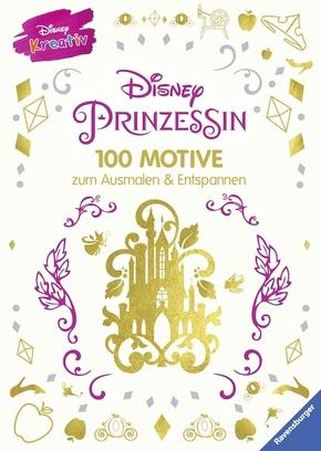 Disney Prinzessin - 100 Motive zum Ausmalen und Entspannen