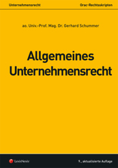 Allgemeines Unternehmensrecht (f. Österreich)