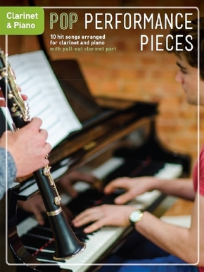 Pop Performance Pieces: Clarinet & Piano