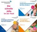 Sauberkeitsentwicklung, Trotzphasen und Schlafgewohnheiten bei Kita-Kindern, 3 Audio-CDs
