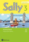 Sally, ab Klasse 1, Ausgabe Nordrhein-Westfalen, Neubearbeitung: 3. Schuljahr, Activity Book mit Audio-CD und Portfolio-Heft