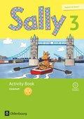 Sally, Englisch ab Klasse 1, Ausgabe für alle Bundesländer außer Nordrhein-Westfalen: 3. Schuljahr, Activity Book: Förderheft mit Audio-CD und Portfolio-Heft