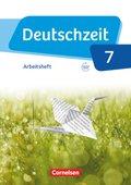 Deutschzeit, Allgemeine Ausgabe: 7. Schuljahr, Arbeitsheft
