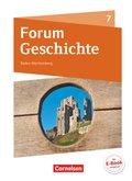 Forum Geschichte, Gymnasium Baden-Württemberg, Neue Ausgabe: 7. Schuljahr, Schülerbuch