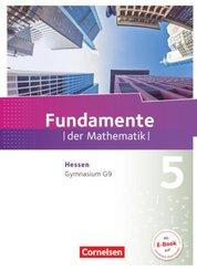 Fundamente der Mathematik, Gymnasium G9 Hessen: 5. Schuljahr, Schülerbuch